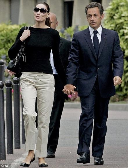 Cretanblanun Nicolas Sarkozy Carla Bruni Wedding