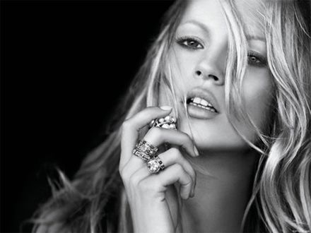 kate moss. described Kate Moss as