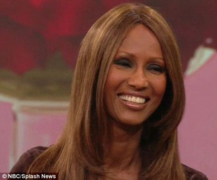 'He still ties my shoes for me': Iman reveals how David Bowie makes her feel special
