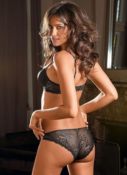 After Gq And Intimissimi Now Irina Shayk Models Lingerie