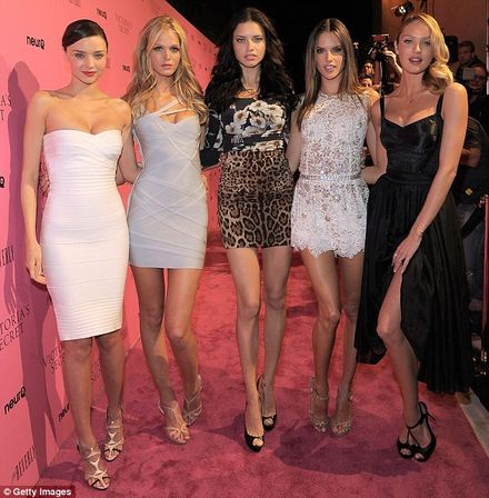 ... Adriana Lima and Alessandra Ambrosio among other social's guests.