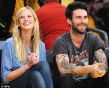 Anne Vyalitsyna and Adam Levine's relationship is heating up
