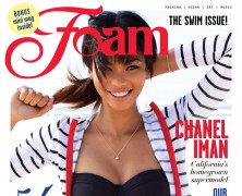 Chanel Iman covers Foam