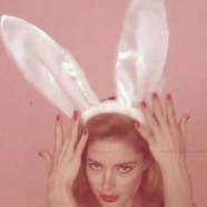 Doutzen Kroes plays sexy Easter Bunny for Love Magazine