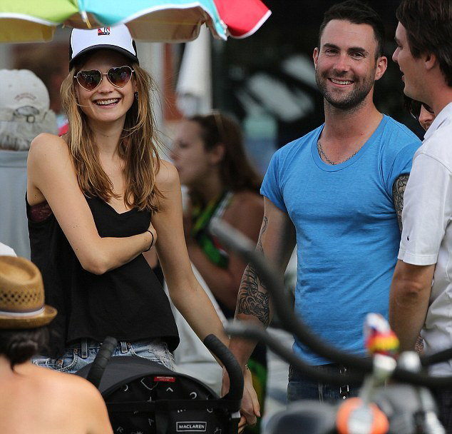 Behati Prinsloo Dating Adam Levine, Anne V's Ex-Boyfriend