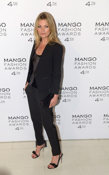 Kate Moss Attends Mango Fashion Awards 2012