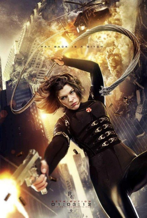 Hot Toys Make A Resident Evil Retribution Alice Figure