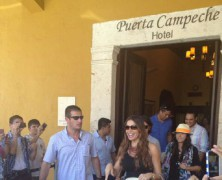 Sofia Vergara Celebrates 40th Birthday in Campeche, Mexico