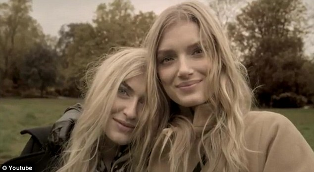 Lily Donaldson and her sister are Alice Temperley's latest stars!