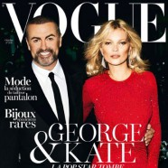 Kate Moss and George Michael land on the cover of Vogue Paris