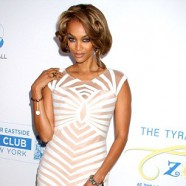 Tyra Banks looks awesome at her Flawsome Ball charity event