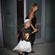Heidi Klum treated her children to a Justin Bieber concert