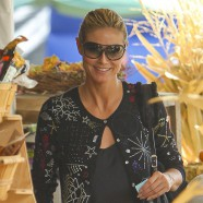 Heidi Klum and daughter Lou have a great time at pumpkin patch