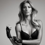 Gisele Bundchen showcases her latest lingerie collection looking hot-to-trot.