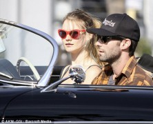 Adam Levine is wild about Victorias Secret model Behati Prinsloo