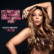 Wendy Williams strips for PETA ad