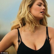 Kate Upton teases in new Mercedes ad