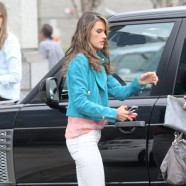 Alessandra Ambrosio walks away a winner