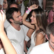 Alessandra Ambrosio rings in the New Year in white