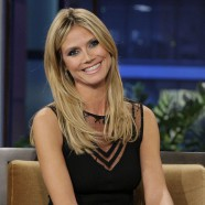Heidi Klum thrills on The Tonight Show