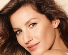 Gisele Bundchen dazes as the new face for Chanel cosmetics