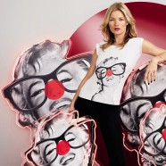 Kate Moss shows her fun side