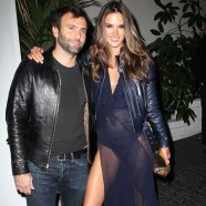 Alessandra Ambrosio was ready to PARTY!