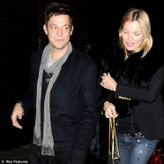 Kate Moss and Jamie Hince opt for a quiet night out