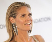 Heidi Klum jets out of LA