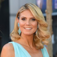 Heidi Klum With A Big Heart On Filming!