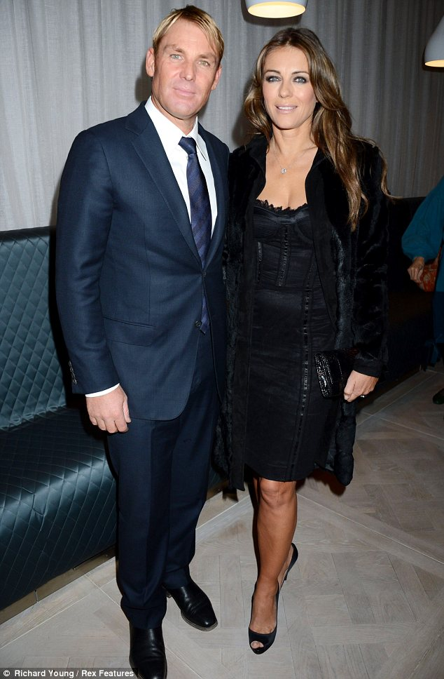 Elizabeth Hurley and the little black dress | The Models Blog
