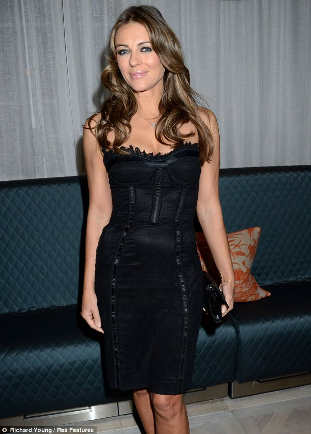 Elizabeth Hurley And The Little Black Dress News The Fmd