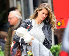 Gisele Bundchen and Tom Brady portray a picture perfect family