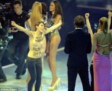 Heidi Klum gets a surprise at Germany�s Next Top Model finale
