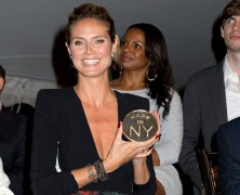 Heidi Klum shows off �animal magnetism� at Made In NY Awards