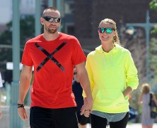 Heidi Klum and beau Martin Kristen have put their �lover�s tiff� far behind them