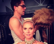Heidi Klum�s Season 12 Project Runway billboard has been BANNED in LA!