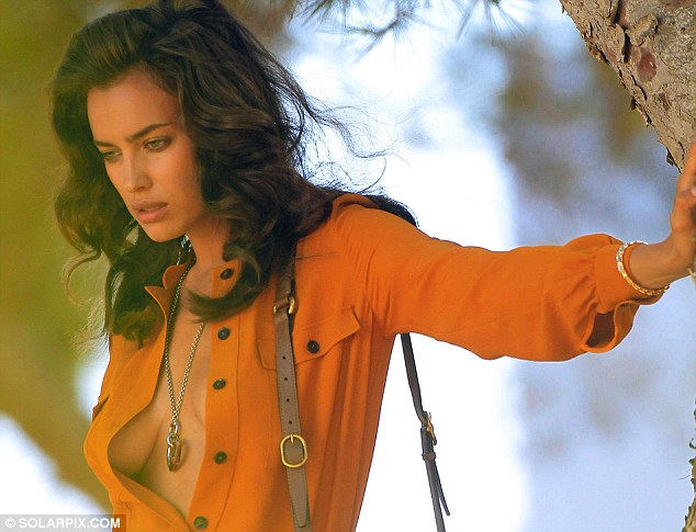 Irina Shayk is back to work after spending time with Cristiano Ronaldo