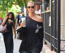 Heidi Klum amps up her style sense!