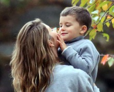 It�s a love filled day for Gisele Bundchen and family