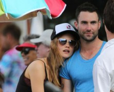 Adam Levine and Behati Prinsloo are taking it to the next level
