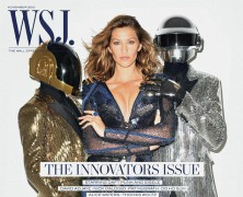 Gisele Bundchen is the face of Wall Street Journal�s Magazine cover