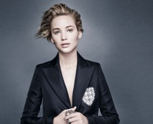 Jennifer Lawrence is Miss Dior