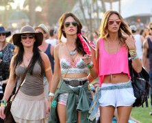 Alessandra Ambrosio Celebrates Birthday At Coachella