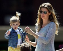 Life's a park for Gisele Bundchen and family