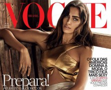 Irina Shayk Stuns in Vogue Brazil August Issue