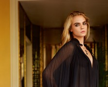 Cara Delevingne is the star of Topshops Fall/Winter 2014 campaign