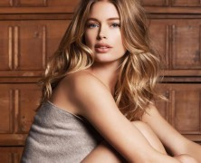Doutzen Kroes heats things up in fall ads for Repeat Cashmere