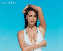 Irina Shayk Heats Up The Summer On The Cover Of Maxim
