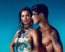 Irina Shayk is steamy and sexy in Triton 2015 Spring/Summer 2015 Campaign
